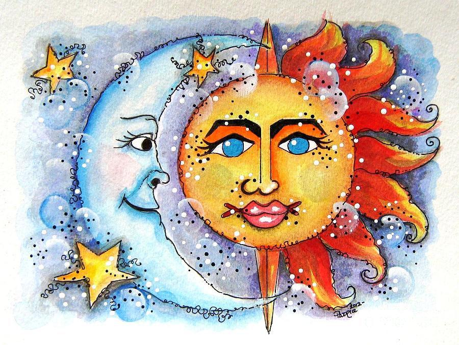 moon and sun - 900×677